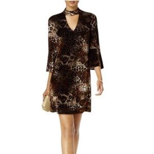 NWT Jessica Howard Velvet Choker Dress